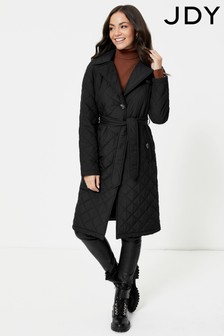 JDY Long Quilted Coat