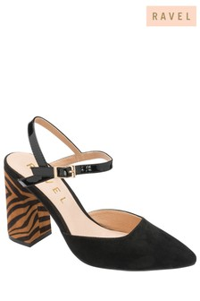 Ravel Animal Print Court Shoes