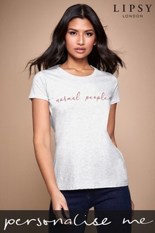 Personalised Heather Grey Normal People Women's T-Shirt by Instajunction