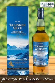 Personalisable Talisker Skye Whiskey Bottle