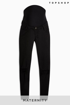 Topshop Maternity Long Leg Over Bump Jeans
