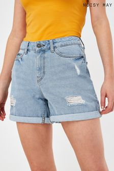 Noisy May Turn Up Denim Shorts