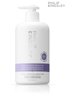 Philip Kingsley Pure Blonde Booster Colour Correcting Weekly Mask 500ml