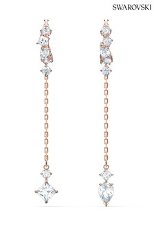 Swarovski Rose Gold Attract Earrings