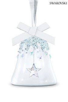 Swarovski Small Star Bell Ornament Bauble