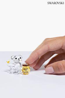 Swarovski Crystal Sweet As Honey Kris Bear Ornament