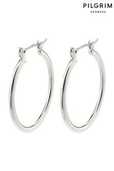 Pilgrim Silver Layla Creole Hoop Plated Earrings