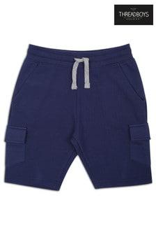 Threadboys Navy Pocket Shorts