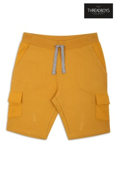 Threadboys Yellow Pocket Shorts