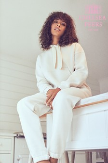 Chelsea Peers Beige Lounge Cotton Jogger