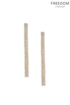 Freedom Jewellery Cupchain Drop Earrings