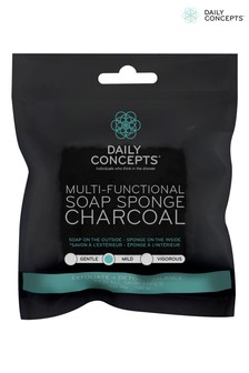 Daily Concepts Multi-Functional Soap Sponge Charcoal