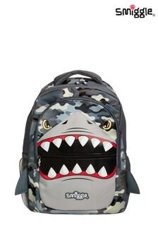 Smiggle Grey Budz Backpack
