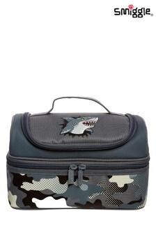 Smiggle Grey Budz Double Decker Lunchbox