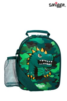 Smiggle Green Budz Hardtop Lunchbox with Strap