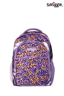 Smiggle Purple Flow Backpack