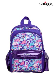 Smiggle Purple Cheer Junior Backpack