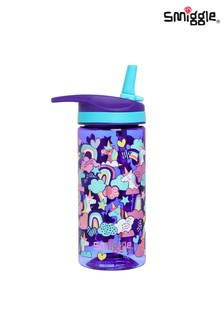 Smiggle Purple Cheer Junior Drink Bottle