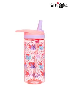 Smiggle Pink Cheer Junior Drink Bottle