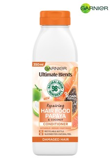 Garnier Ultimate Blends Repairing Hair Food Papaya Conditioner For Damaged Hair 350ml