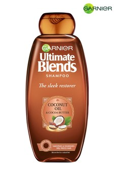 Garnier Ultimate Blends Coconut Oil & Cocoa Butter Shampoo for Curly Hair 360ml