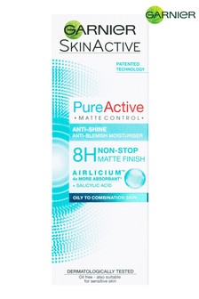 Garnier Pure Active Matte Control Anti Blemish Face Moisturiser 50ml