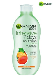 Garnier Intensive 7 Days Mango Probiotic Extract Body Lotion Dry Skin 400ml