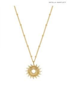 Estella Bartlett Gold Full Sunburst Necklace