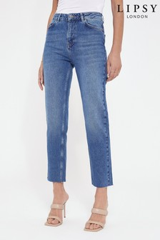 Lipsy Blue Slim Straight Jeans