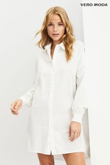 Vero Moda White Oversized Shirt