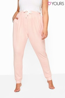 Yours Pink Curve Soft Touch Lounge Pant