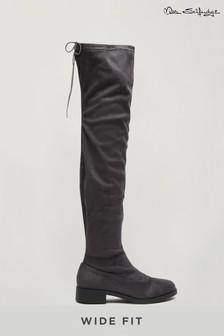 Miss Selfridge Olivia Wide Fit Knee High Boot