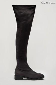Miss Selfridge Olivia High Leg Flat Boot