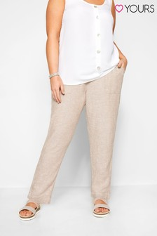Yours Nude Curve Tapered Trouser
