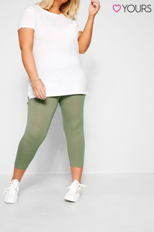 Yours Curve Crop Legging