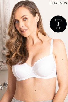 Charnos White Everyday Comfort Full Cup Bra GG+