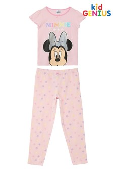 Kid Genius Pink Disney Minnie Mouse Star Pyjama Set