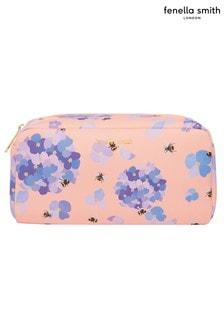 Fenella Smith Bee & Hydrangea Vegan Leather Box Washbag