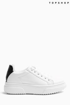 Topshop Canada Lace Up Trainer