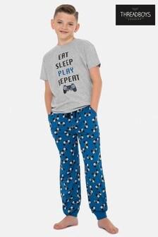 Threadboys Blue Gamer Pyjama Set