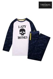 Threadboys Blue Camo Pyjama Set