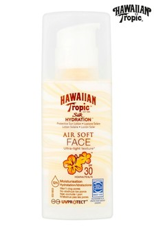 Hawaiian Tropic Silk Hydration Protective Sun Lotion Air Soft Face SPF 30 50ml