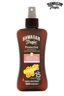 Hawaiian Tropic Protective Dry Spray Oil Coconut & Guava SPF 15 200ml