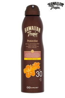 Hawaiian Tropic Protective Dry Oil Continuous Spray Coconut & Mango SPF 30 180ml