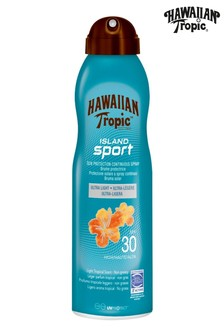 Hawaiian Tropic Island Sport Sun Protection Continuous Spray SPF 30 220ml