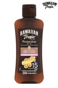 Hawaiian Tropic Protective Dry Oil Coconut & Guava SPF 15 100ml
