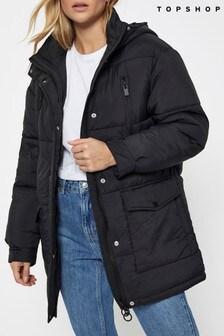 Topshop Brian Puffer Coat