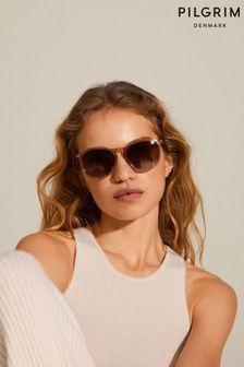 PILGRIM Brown Vanille Sunglasses