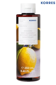 Korres Basil Lemon Renewing Body Cleanser 250ml