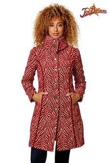 Joe Browns Jacquard Zebra Coat